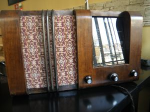 Lamp radio Stassfurt Imperial 49W