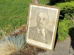 Ленит -портрет в оригинална рамка