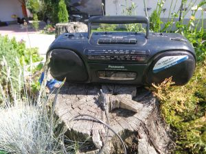 Panasonic-RX-FS 430-радиокасетофон