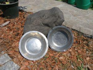 бакърени чинии 2 бр.