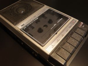 Cassette-Recorder or -Player TEC Sound 5 -Germany