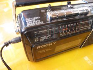 Radiocassette rekorder ROCKY
