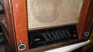 лампов радиоапарат SABA 357WKH