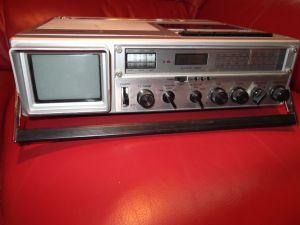 NORDMENDE -радиокасетофон с телевизор,Model: TV-Portable TRK 209
