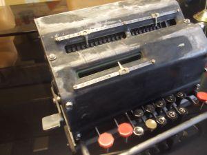 Механична сметачна машина-PATENT