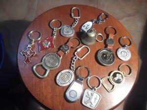 Колекция ключодържатели- метални