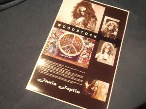 Janis Joplin-снимков колаж 32/50см