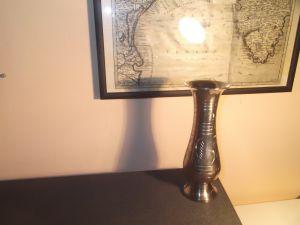 Метална ваза -20см