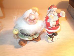 "играчки-сувенири ""Дядо коледа"""