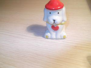 """играчки-сувенири """"Поцеланово кученце за Свети Валентин"""""""