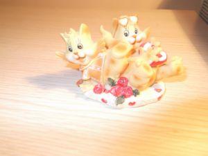 """играчки-сувенири """"Весели котенца"""""""