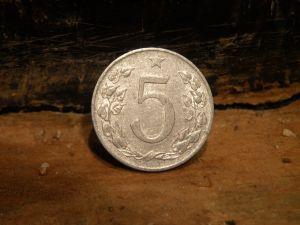 Лот монети от ЧССР