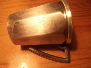 матална чаша за кафе- алпака