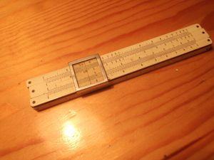 логаритмична линийка 10см