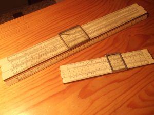 логаритмична линийка 13 ,25см