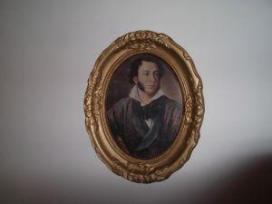 портрет на Пушкин -25/30см
