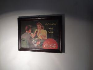 Картина в рамка -Реклама на КОКА КОЛА 60/45см
