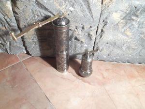 Комплект мелничка за кафе и мелничка за пипер-метални