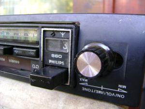 Рерто  радио за автомобил  PHILIPS 860 car radio,Cassette-Recorder or -Player