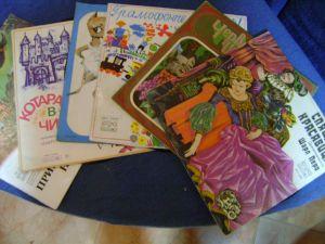 Български архивни грамофонни плочи- колекция приказки