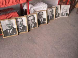 портрети на соц.партийни личности от СССР и НРБ-12бр