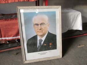Портрет на Ю. Андропов 70/53см.