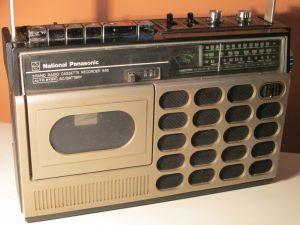 National Panasonik RQ546Cassette-Recorder or -Player