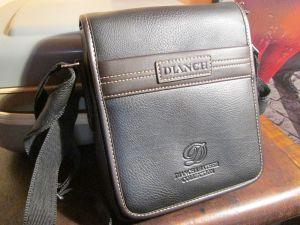 Kожена мъжка чанта DIANCH-нова