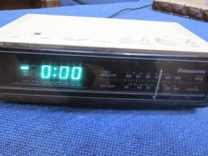 PANASONIC RC 65BS-ablemodel with Clock ((Alarm-)
