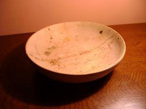 дървена чиния 18см