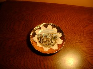 Сувенирна чинийка 12см