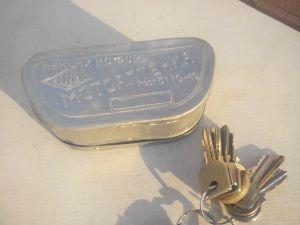 Мини аптечка за мотор - кутия от алуминий