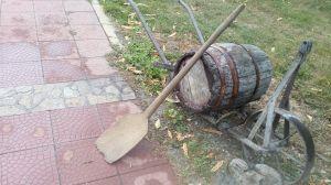 Лопата дървена -фурнаджйска