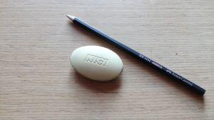 Гума за молив NICI