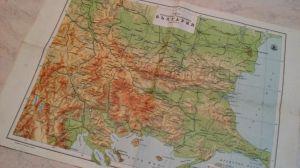 Карта на България 1950г.   33/47см