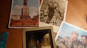 Стари съветски картички 6 бр