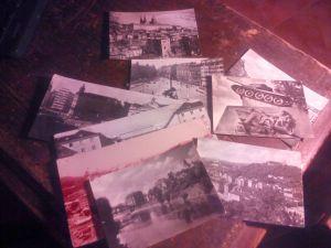 Лот черно-бели картички от ЧССР -9 бр