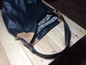 Дамска чанта -кожа