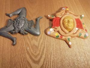 2бр сувенири от Сицилия-керамика