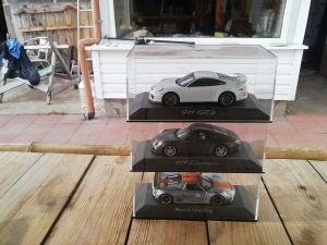 3бр минимодели на спортни Порше 911 carrera, 911GT3,918RSR