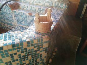 Дървена садинка за баня и сауна