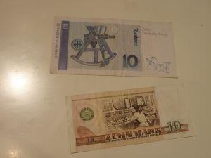 банкноти и монети от   Германия
