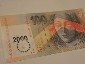 банкноти -Словашки крони