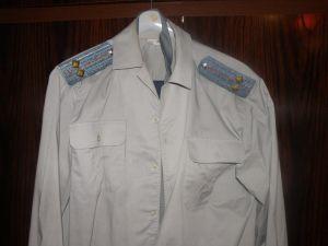 Униформа-офицерска с дълъг ракав - куртка,риза с панталон,вратовръзка ВВС
