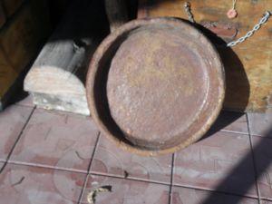 глинен съд за печене на хляб-самун и шиник за сеитба