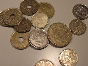 монети -Испания