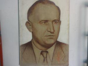 Тодор Живков-портрет/рисунка/ 100/70см.