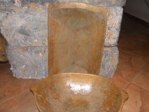 Дървено корито за месене на тесто