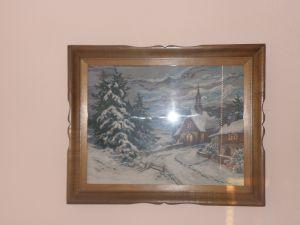 гоблен 45/60см-зимна картина
