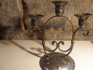 манастирски свещник-ковано желязо